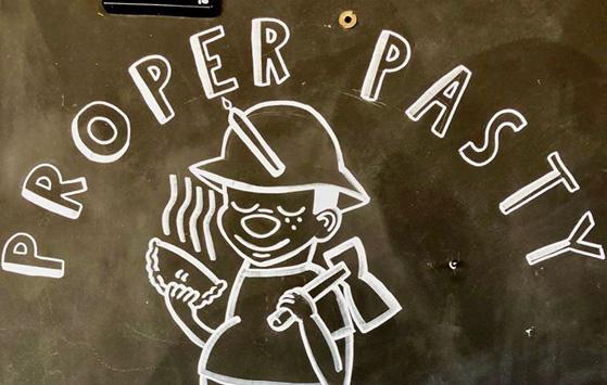 Proper Pasty Miner Logo